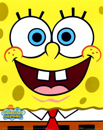 spongebob design ziplock bag